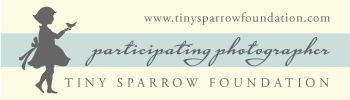 Affiliated with Tiny Sparrow Foundation for gravely ill children and their families.